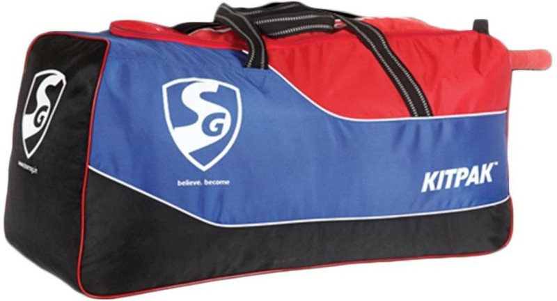 SG KITPAK Cricket kitbag(Blue, Kit Bag)