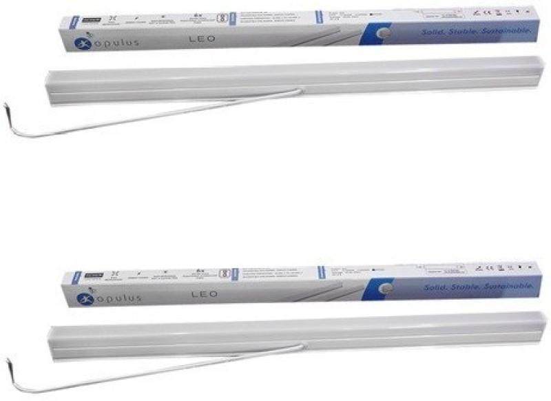 Opulus OPBPT5A5W65_2 Straight Linear LED Tube Light(White, Pack of 2)