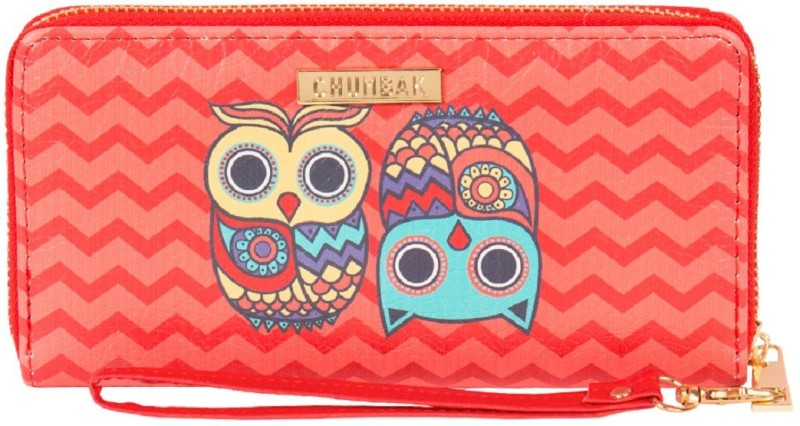 Chumbak Women Multicolor Artificial Leather Wallet(12 Card Slots)