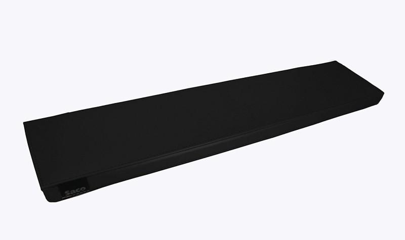 Saco Palm Support Comfort Soft Wrist Rest(Black)