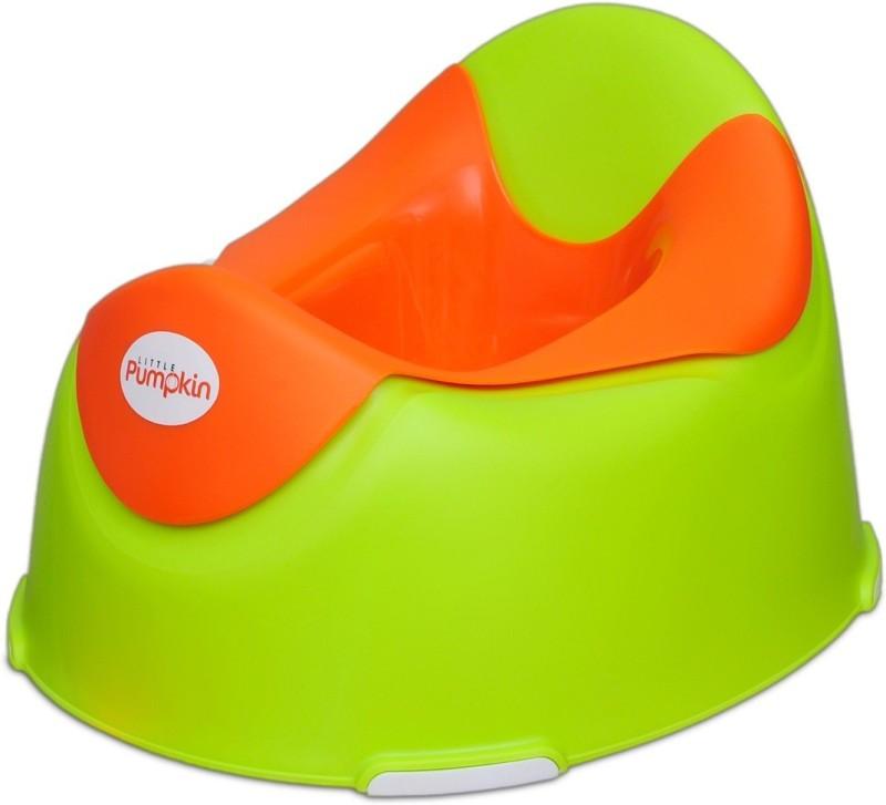 Little Pumpkin Kiddie Kingdom Potty Box(Green, Orange)