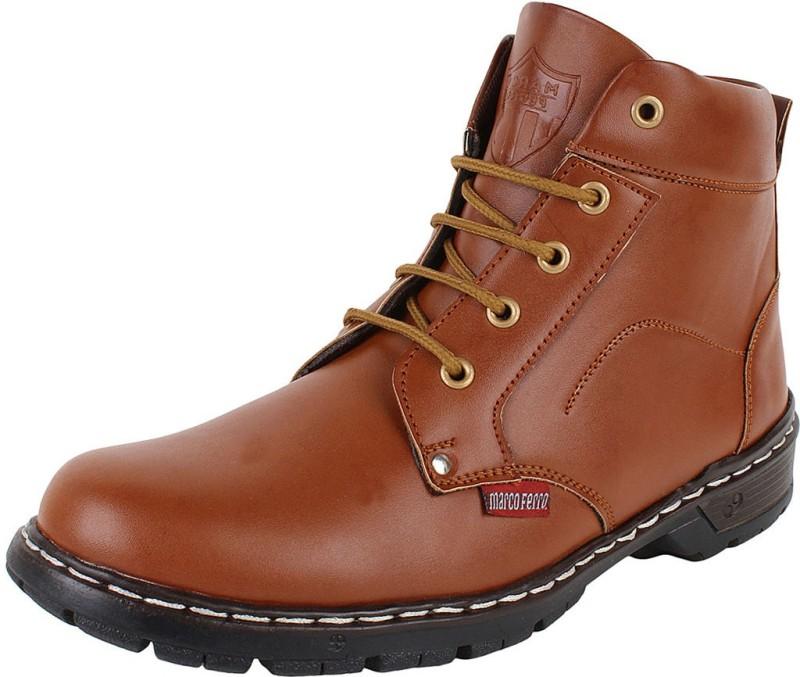 Marco Ferro Boots(Tan)