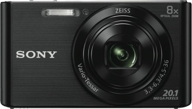 Sony DSC W830 Black NO Point & Shoot Camera(Black) image