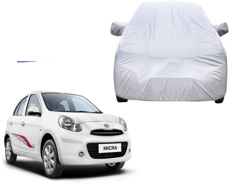 Chiefride Car Cover For Nissan Micra (With Mirror Pockets)(Grey)
