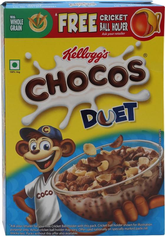 Kelloggs Chocos Duet(375 g, Box)