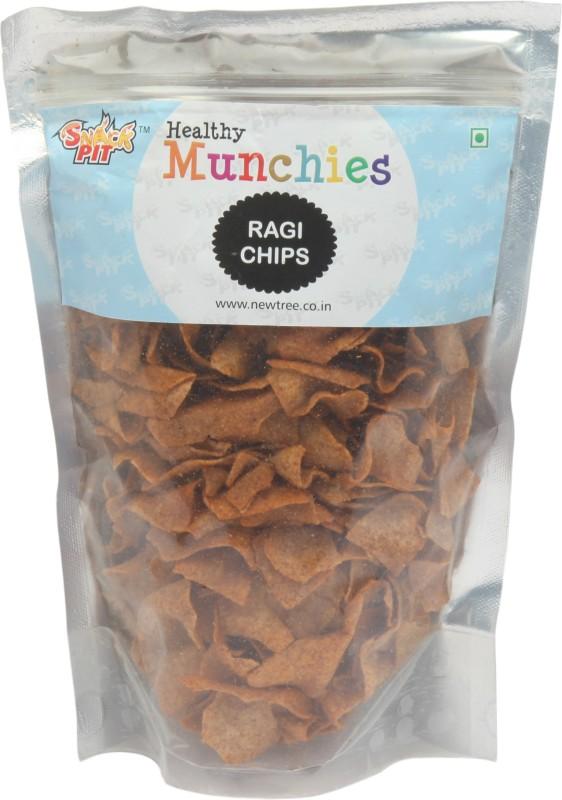 Snack Pit Ragi Chips Pack Of 3 Chips(450 g)