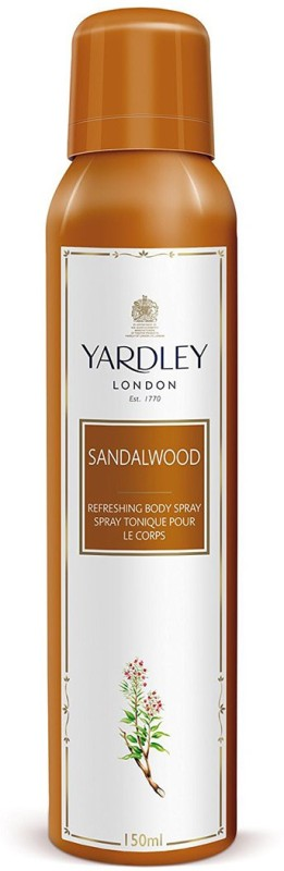 Yardley London Imperial Sandalwood Body Spray - For Women(150 ml)