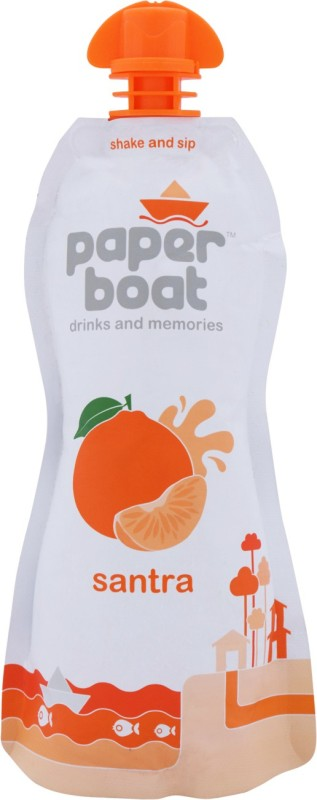 Paper Boat Juice - Santra 200 ml