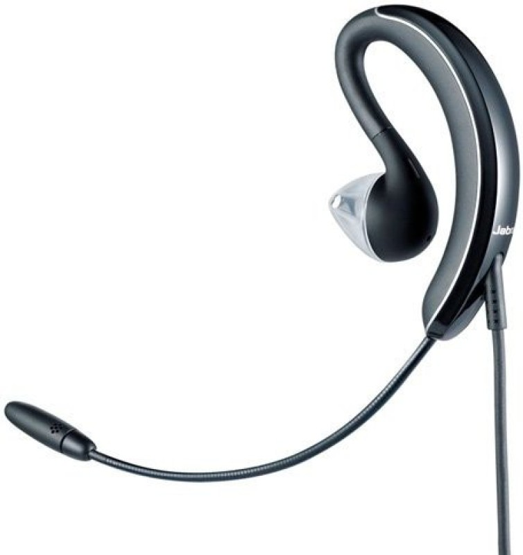 Jabra 2507-829-209 Headset with Mic(Black, Over the Ear)