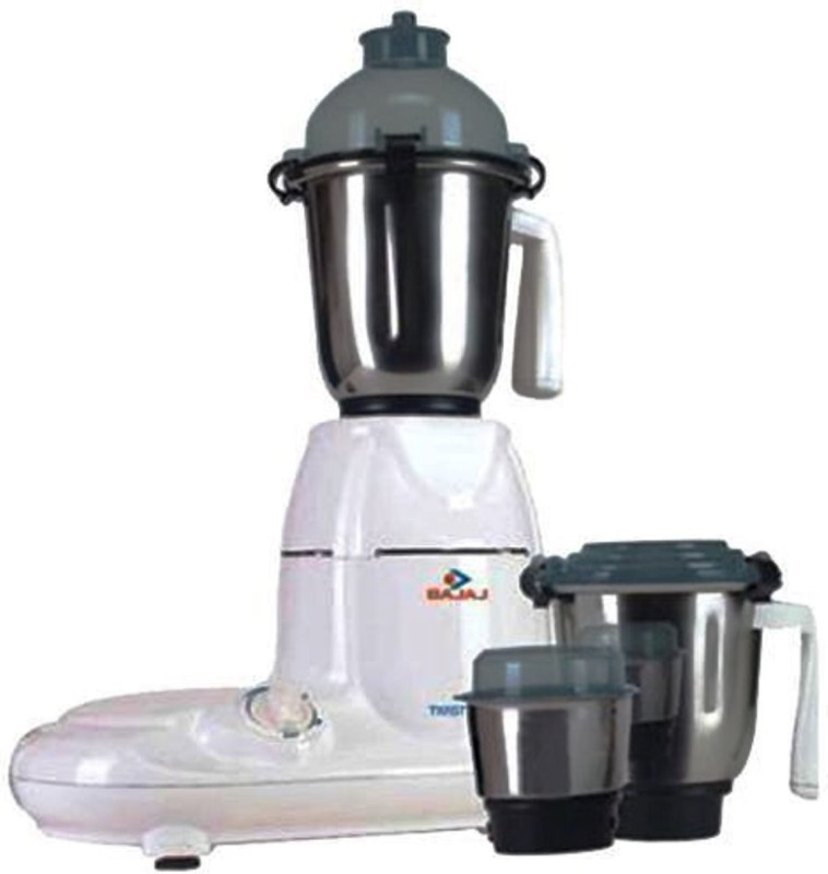 Bajaj 410135 750 W Mixer Grinder(Black, White, 4 Jars)