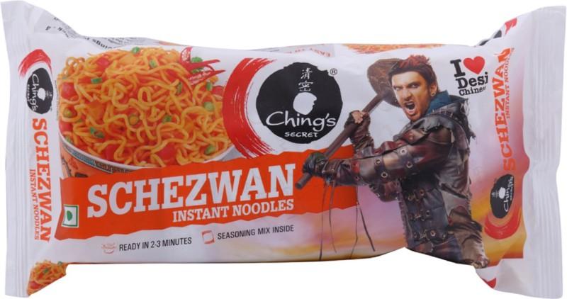 Chings Secret Schezwan Instant Noodles 240 g(Vegetarian)