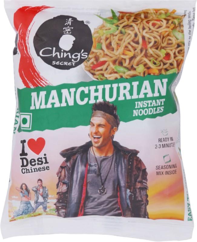 Chings Secret Manchurian Instant Noodles 60 g(Vegetarian)
