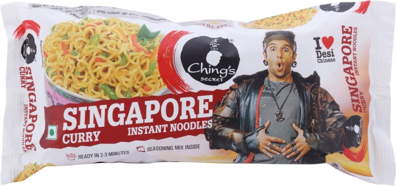 Chings Secret Singapore Curry Instant Noodles 240 g(Vegetarian)
