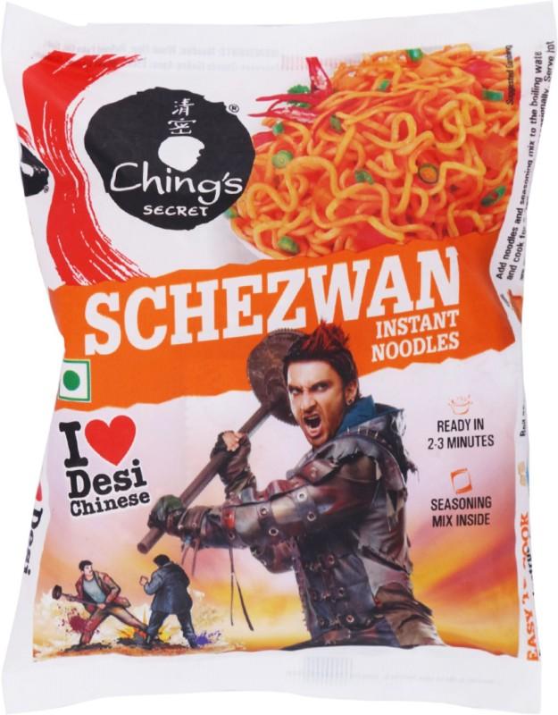 Chings Secret Schezwan Instant Noodles 60 g(Vegetarian)