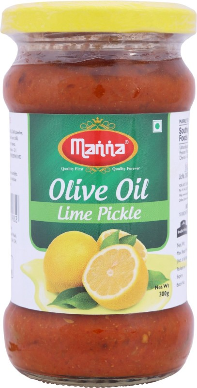 Manna Olive Oil Lime Pickle(300 g)