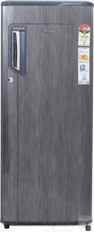 whirlpool 215 l direct cool single door titanium 230 imfresh prm 4s n