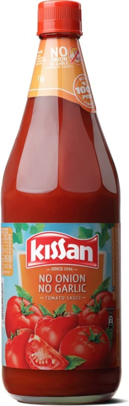 Kissan (No Onion No Garlic) Tomato Sauce(1 kg)