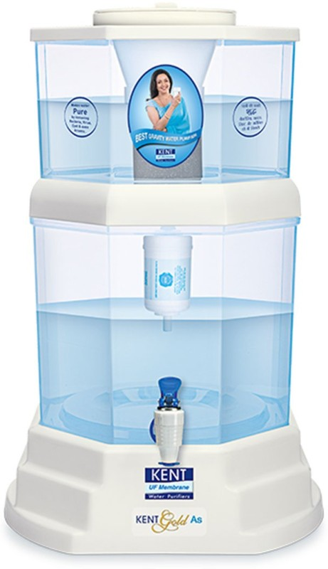 Kent 11043 20 L UF Water Purifier(White, Blue)