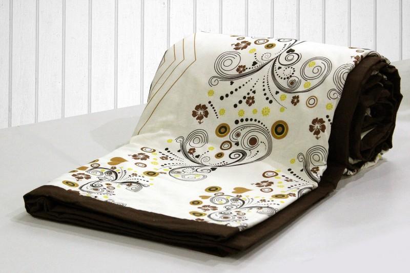 AURAVE Floral Single Dohar Multicolor(AC Dohar, 1 pc Reversible SINGLE...