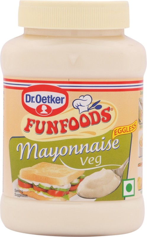 Fun Foods Mayonnaise Veg 250 g