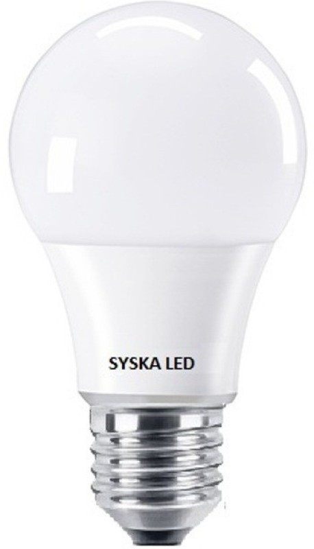 Syska 7 W Standard E27 LED Bulb(White)