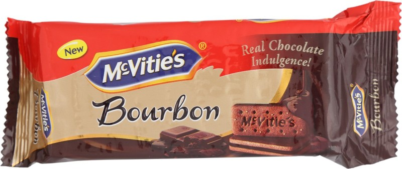 McVities Cream Filled Bourbon Biscuits(300 g)