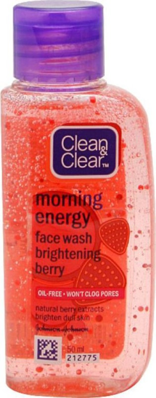 Clean & Clear Morning Energy (Berry) Face Wash(50 ml)