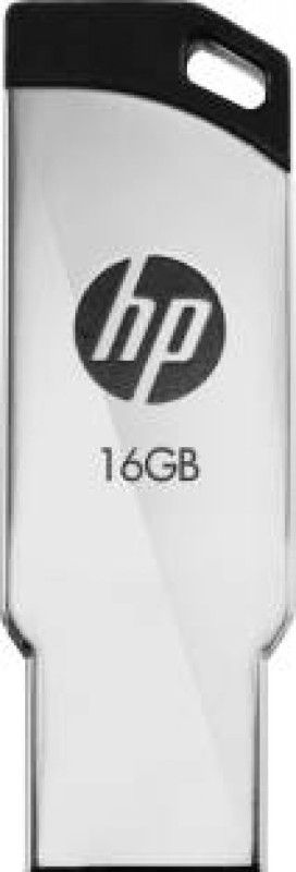 HP USB 2.0 Flash Drive v236w 16 GB Pen Drive(Silver)