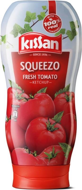 Kissan Squeezo Fresh Tomato Ketchup(450 g)