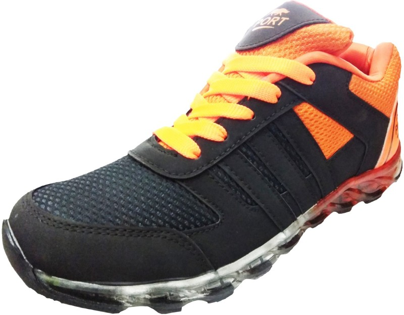 Port Sporrts Running Shoes For Men(Black)