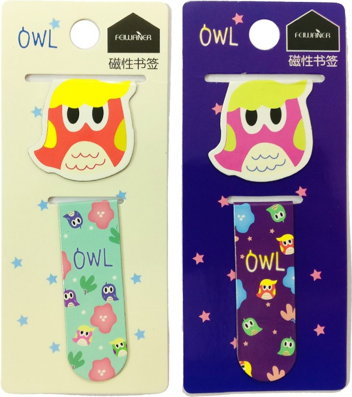 Fusen collection MSB003 Bookmark Bookmark(Owl, Multicolor)