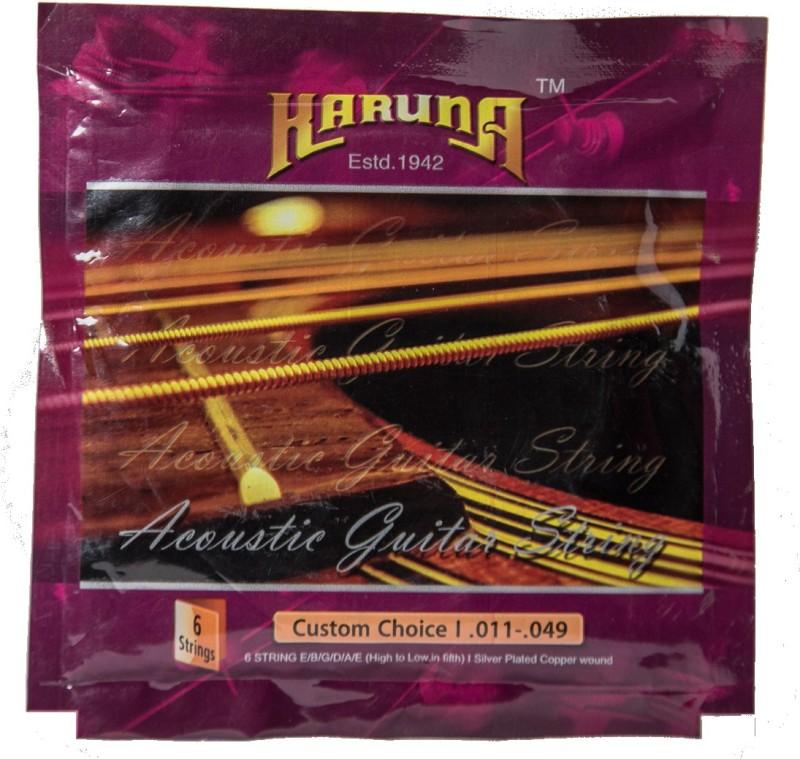 karuna Acoustic kr 011 Guitar String(6 Strings)