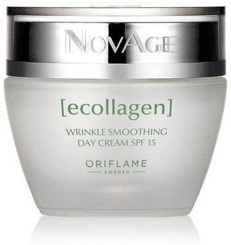 Oriflame Sweden NovAge Ecollagen Wrinkle Smoothing Day Cream SPF 15(50 ml)