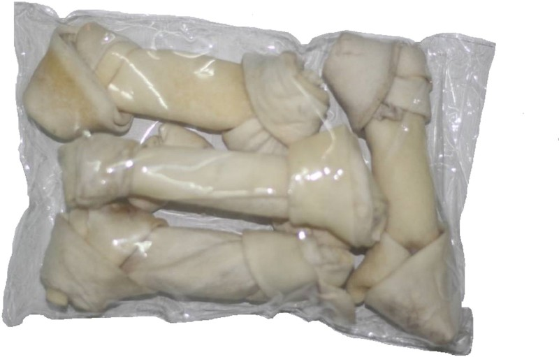 scoobee knotted bones Chicken Dog Chew(500 g, Pack of 5)