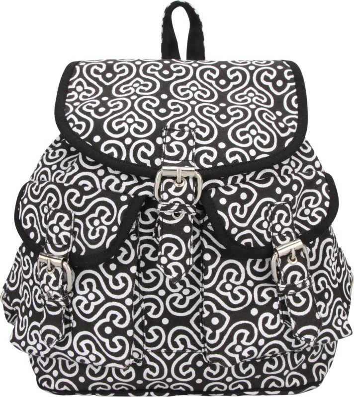 Vivinkaa VPAISLEY 2 L Backpack(Black)