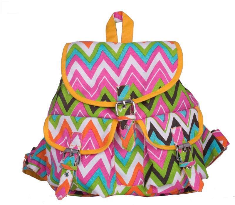 Vivinkaa VZIGZAG 2 L Backpack(Yellow)