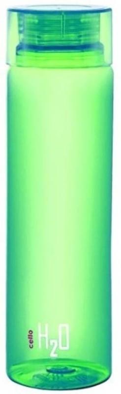 Cello h2o 1000 ml Bottle(Pack of 1, Green)