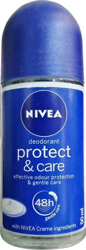 Nivea Protect and Care Roll On Deodorant Roll-on - For Men & Women(50 ml)