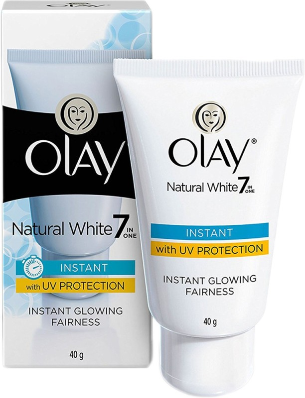 Olay Natural White Light Instant Glowing Fairness Serum(40 g)