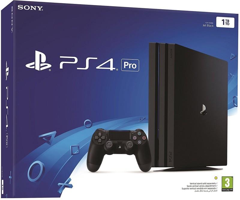 Sony PS4 Pro 1 TB Console 1 Tb GB with GTA 5(Black)