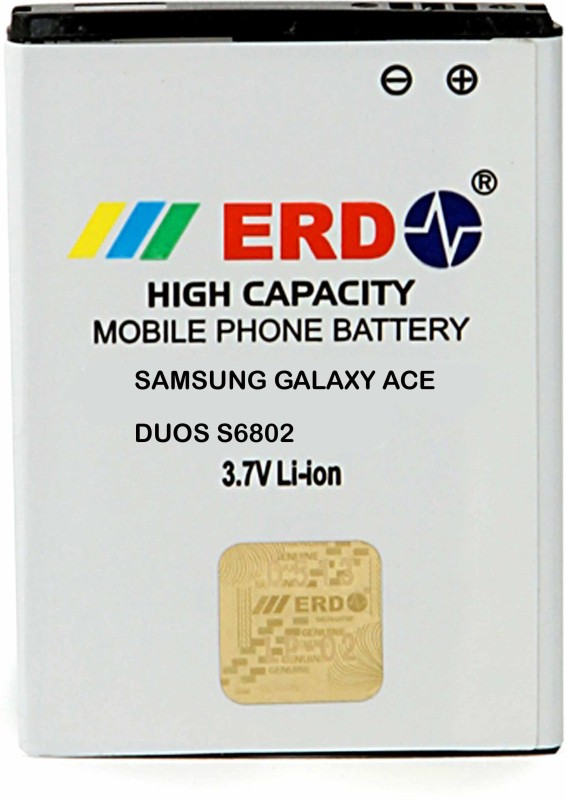 ERD Mobile Battery For Samsung Galaxy Ace Duos S6802