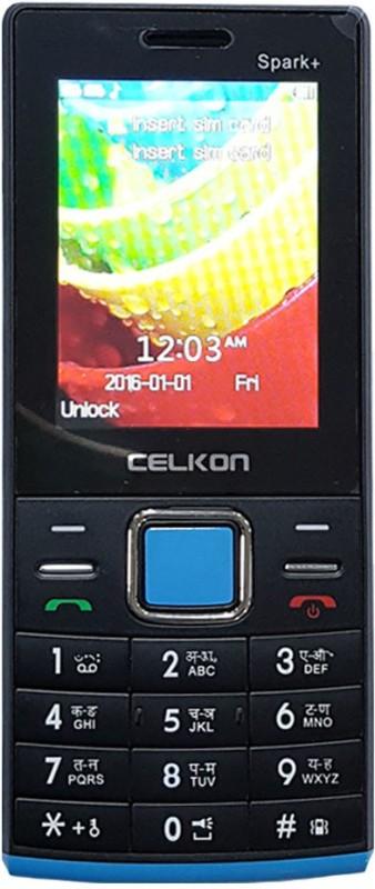 Celkon Spark+(Black & Blue)