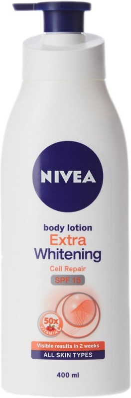 Nivea Extra Whitening Cell Repair Body Lotion SPF 15(400 ml)