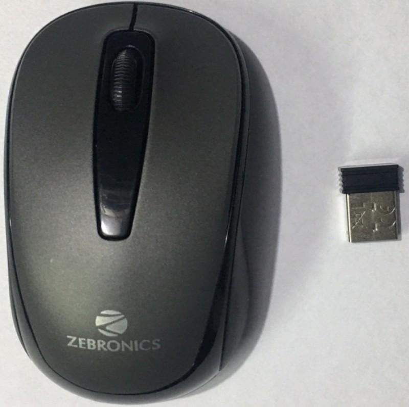 Zebronics ZEB-RAPID Wireless Optical Mouse(Bluetooth, Black)