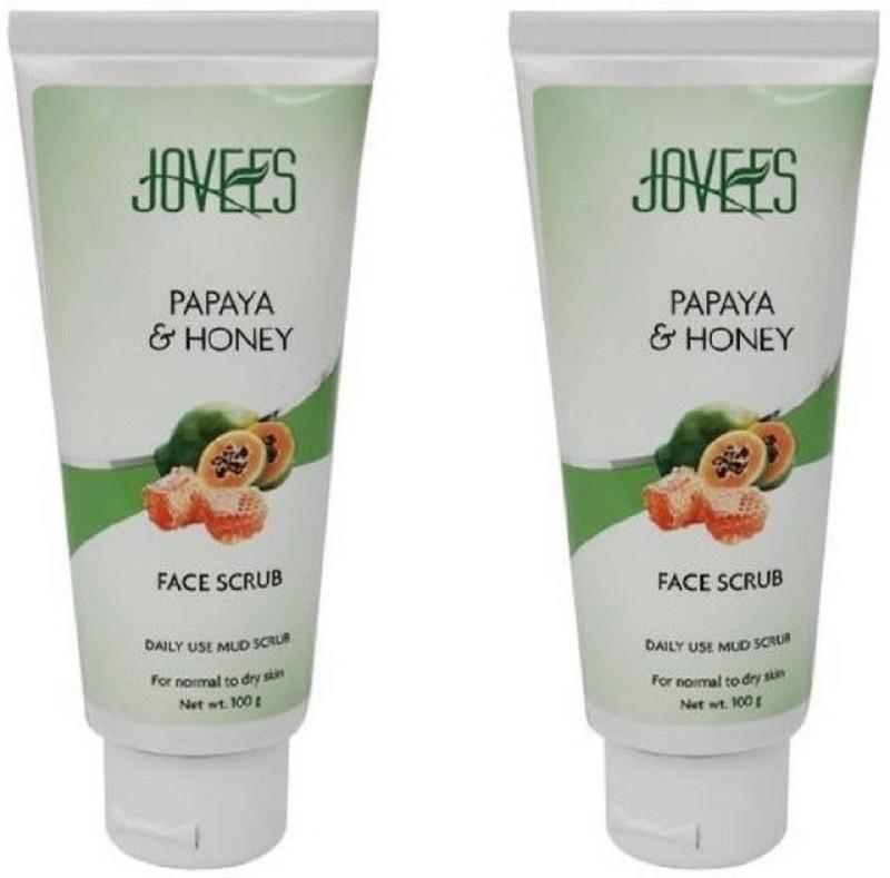 Jovees Papaya & Honey-Daily use mud Scrub(200 g)