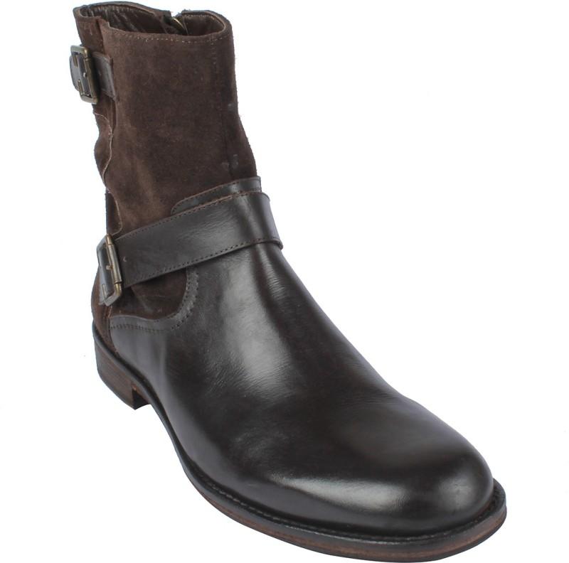 SALT N PEPPER 14-319 SUEDEBROWN Boots(Brown)