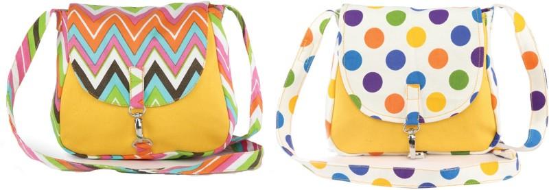 Vivinkaa Multicolor Sling Bag