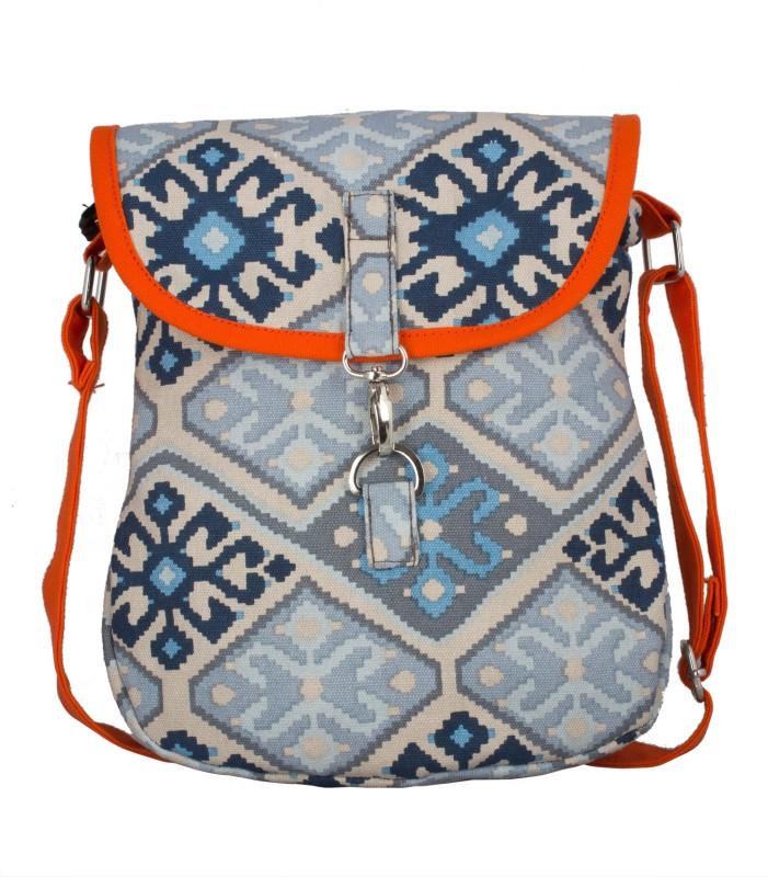 Vivinkaa Orange Sling Bag