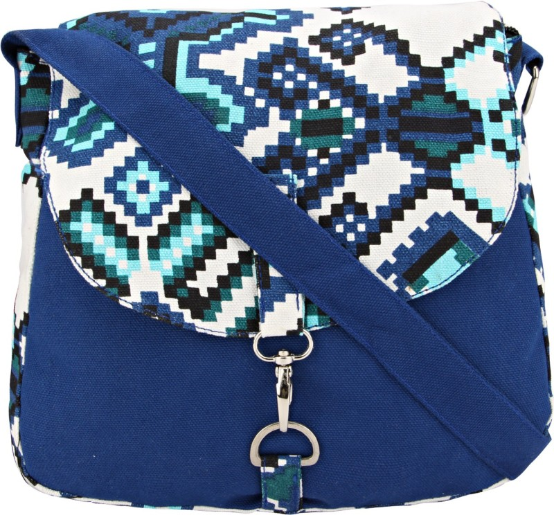 Vivinkaa Blue Sling Bag