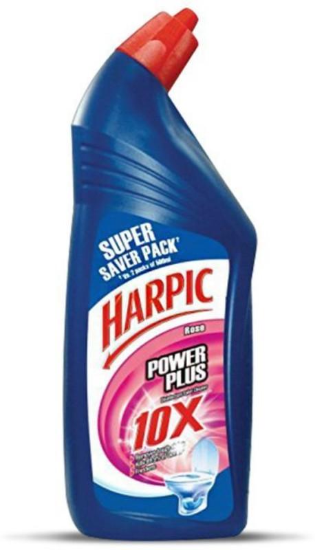 Harpic Power Plus Rose Liquid Toilet Cleaner(1 L)